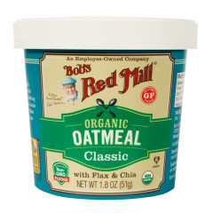 BOB'S RED MILL ORGANIC CLASSIC OATMEAL 1.8 OZ