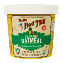 BOB'S RED MILL ORGANIC PINEAPPLE COCONUT OATMEAL 2.43 OZ