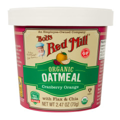 BOB'S RED MILL ORGANIC CRANBERRY ORANGE OATMEAL 2.47 OZ