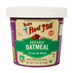BOB'S RED MILL ORGANIC FRUIT AND SEED OATMEAL 2.47 OZ