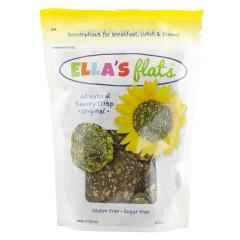 ELLA'S FLATS SAVORY CRISPS 6.5 OZ POUCH *FL DC ONLY*