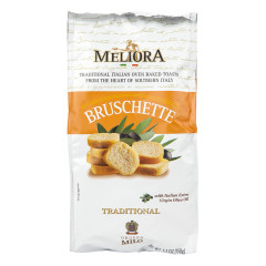 MELIORA TRADITIONAL BRUSCHETTE 5.3 OZ BAG