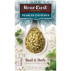 NEAR EAST PEARLED COUSCOUS BASIL & HERB 5 OZ