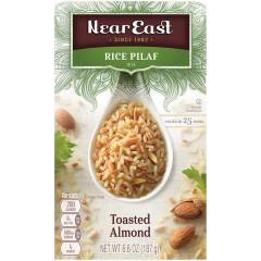 NEAR EAST TOASTED ALMOND RICE PILAF 6.6 OZ BOX