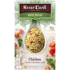 NEAR EAST CHICKEN RICE PILAF 6.25 OZ BOX