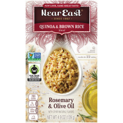 NEAR EAST ROSEMARY AND OLIVE OIL QUINOA 4.8 OZ BOX