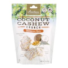 ANASTASIA JAMAICAN RUM COCONUT CASHEW CRUNCH 5.75 OZ POUCH *FL DC ONLY*