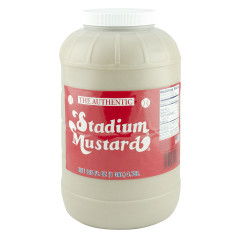 AUTHENTIC STADIUM MUSTARD 1 GALLON *FL DC ONLY*