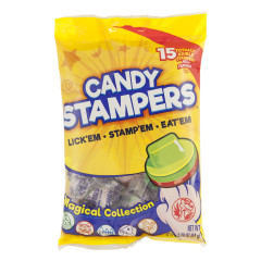 CANDY STAMPERS MAGICAL COLLECTION 2.27 OZ PEG BAG