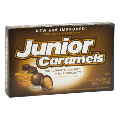 JUNIOR CARAMELS 3.6 OZ THEATER BOX