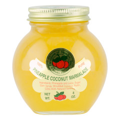 DOD PINEAPPLE COCONUT MARMALADE 8 OZ JAR *FL DC ONLY*
