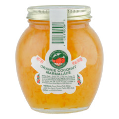 DOD ORANGE COCONUT MARMALADE 16 OZ JAR *FL DC ONLY*