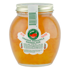 DOD ORANGE PINEAPPLE MARMALADE 16 OZ JAR *FL DC ONLY*