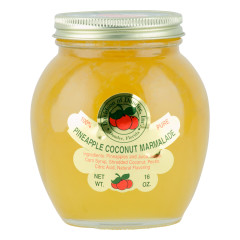 DOD PINEAPPLE COCONUT MARMALADE 16 OZ JAR *FL DC ONLY*