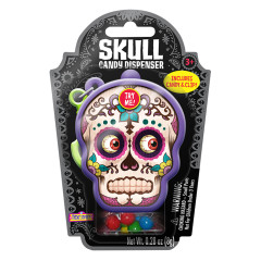 DAY OF THE DEAD SUGAR SKULL CANDY DISPENSER 0.28 OZ