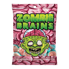 AMUSEMINTS GUMMY BRAINS 5 OZ PEG BAG