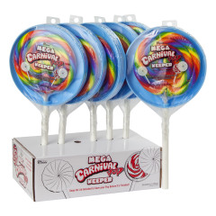 MEGA CARNIVAL POP WITH KEEPER 12 OZ LOLLIPOP