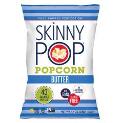 SKINNYPOP REAL BUTTER POPCORN 4.4 OZ BAG