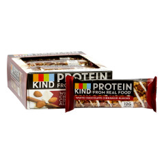 KIND WHITE CHOCOLATE CINNAMON ALMOND PROTEIN 1.76 OZ BAR