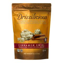 DRIZZILICIOUS CINNAMON SWIRL DRIZZLE BITES 4 OZ POUCH