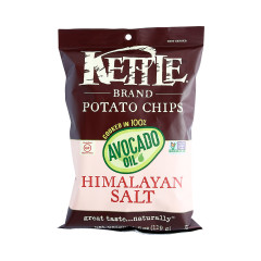 KETTLE HIMALAYAN SALT COOKED IN AVOCADO OIL POTATO CHIPS 1.5 OZ BAG