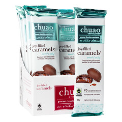 CHUAO JOY FILLED SWEET AND SALTY CARAMELS 2.25 OZ