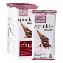 CHUAO SPRINKLE DREAMS 2.8 OZ BAR