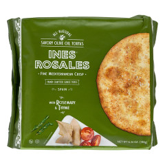 INES ROSALES ROSEMARY AND THYME TORTAS 6 PC 6.34 OZ