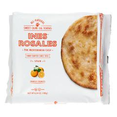 INES ROSALES ORANGE TORTAS 6 PC 6.34 OZ