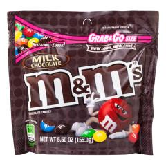 M&M'S MILK CHOCOLATE 5.5 OZ POUCH
