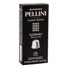 PELLINI SUPREMO ESPRESSO CAPSULES 10 PC BOX