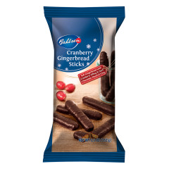BAHLSEN CRANBERRY GINGERBREAD STICKS 6.4 OZ BAG