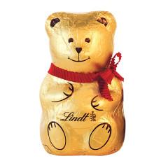 LINDT BEAR FOIL MILK CHOCOLATE 3.5OZ