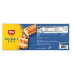 SCHAR GLUTEN FREE BAGUETTES 12.3 OZ