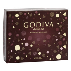 GODIVA ASSORTED CHOCOLATES 5 PC 2.1 OZ BOX