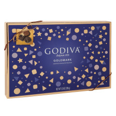 GODIVA ASSORTED CHOCOLATES 22 PC 9.5 OZ BOX