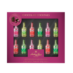 ANTHON BERG CHOCOLATE COCKTAIL LIQUERS 12 PC 6.6 OZ BOX