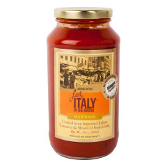LITTLE ITALY IN THE BRONX MARINARA SAUCE 24 OZ JAR