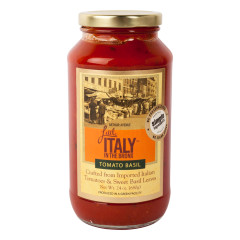 LITTLE ITALY IN THE BRONX TOMATO BASIL SAUCE 24 OZ JAR