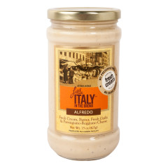 LITTLE ITALY IN THE BRONX ALFREDO SAUCE 15 OZ JAR