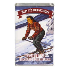 BABY IT'S COLD OUTSIDE! CHOCOLATE & CREAM COCOA 8 OZ TIN