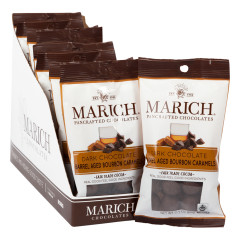 MARICH DARK CHOCOLATE BOURBON CARAMELS 2.1 OZ BAG