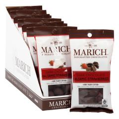 MARICH DARK CHOCOLATE BALSAMIC STRAWBERRIES 2 OZ