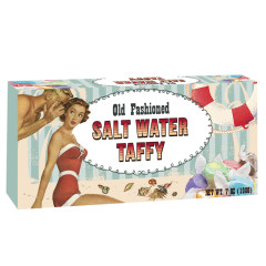 AMUSEMINTS OLD FASHIONED SALT WATER TAFFY BOX 7 OZ