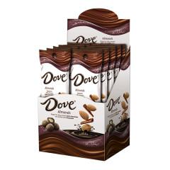DOVE DARK CHOCOLATE CINNAMON DUSTED ALMONDS 1.6 OZ
