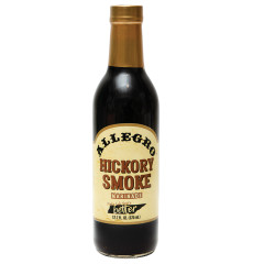 ALLEGRO HICKORY SMOKE MARINADE 12.7 OZ BOTTLE