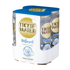 TICKLE WATER NATURAL SPARKING WATER 4 PACK 8.4 OZ *FL DC ONLY*