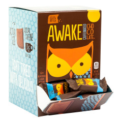AWAKE BITES CAFFEINATED MILK CHOCOLATE 0.53 OZ