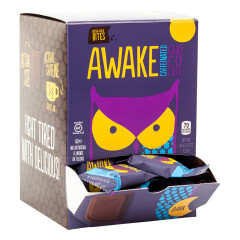 AWAKE BITES CAFFEINATED DARK CHOCOLATE 0.47 OZ