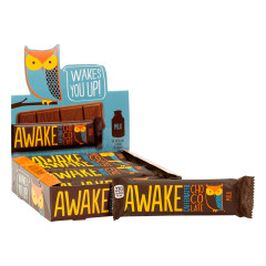 AWAKE CAFFEINATED MILK CHOCOLATE 1.55 OZ BAR